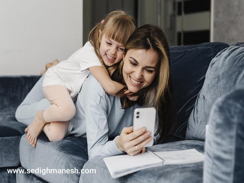 میزان استفاده کودک از موبایل ترجمه علیرضا صدیق منش روانشناس